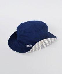 SHIPS KIDS/SHIPS KIDS:ボーダー ウエスタン ハット【UV CUT製品】/500093526