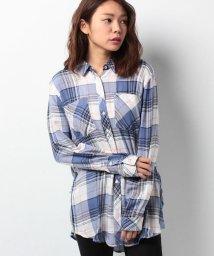 HILFIGER DENIM/レーヨン チェックシャツ/500085026