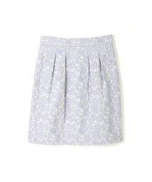 PROPORTION BODY DRESSING/フラワーフルーツジャガードコクーンスカート/500087406