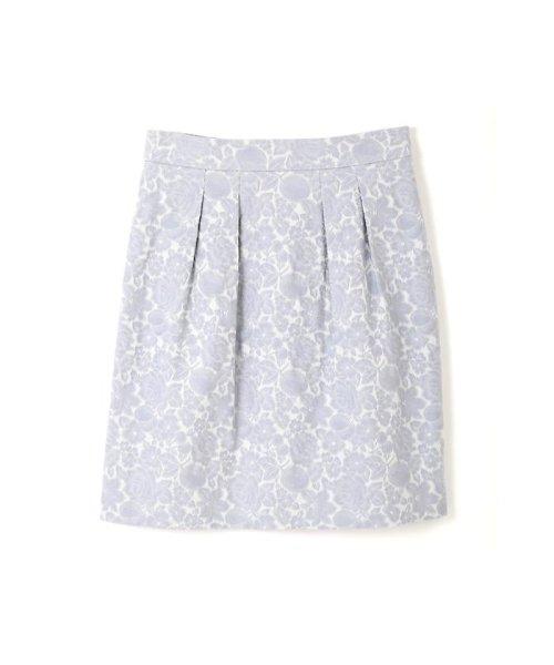 PROPORTION BODY DRESSING(プロポーション ボディドレッシング)/フラワーフルーツジャガードコクーンスカート/1217120202
