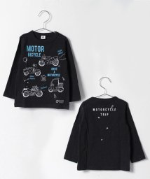 JEANS‐b/motor bicycleロングTシャツ/500087853