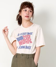 FREAK'S STORE/Mixta/ミクスタ 別注BasicprintTシャツ/500098219