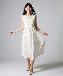form forma/【ウェディングドレス】レース×ジョーゼット ロングウェディングドレス/500088280