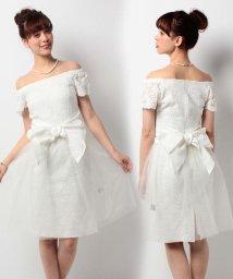 form forma/【ウェディングドレス】オーバースカート付きレースショートウェディングドレス/500088281