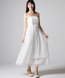 form forma/【ウェディングドレス】ベアトップ ロングウェディングドレス/500088283