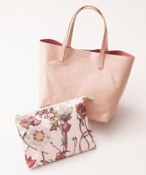NIJYUSANKU/【A4対応・柄クラッチ付き】Leather Tote バッグ/500101060