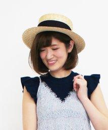 31 Sons de mode/花刺繍カンカン帽/500103433