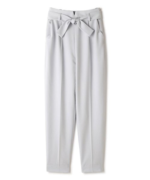 PROPORTION BODY DRESSING(プロポーション ボディドレッシング)/リボンセンタープレスパンツ/1217130102