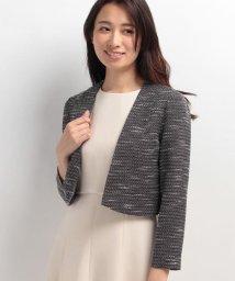 form forma/【セレモニー】羽織タイプ ツィードジャケット/500088316