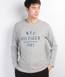 TOMMY HILFIGER MENS/ロゴプリントロングTシャツ/500095487