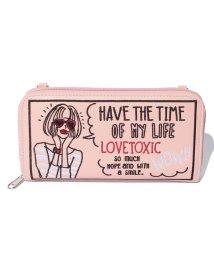 Lovetoxic/ラウンド財布(コラボ)/500098732