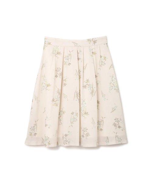 PROPORTION BODY DRESSING(プロポーション ボディドレッシング)/フローリッシュボタニカルプリントスカート/1217120009