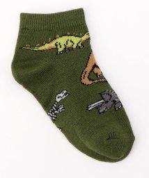 SHIPS KIDS/Jefferies Socks:ダイナソー ローカット ソックス/500110480