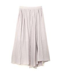 PROPORTION BODY DRESSING/《BLANCHIC》ランダムヘムマキシスカート/500110713