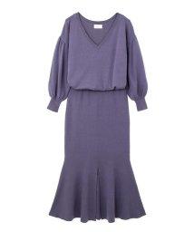 PROPORTION BODY DRESSING/《BLANCHIC》マーメードニットワンピース/500110717