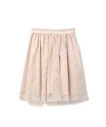 PROPORTION BODY DRESSING/《EDIT COLOGNE》シアーチェックプチフラワースカート/500096123