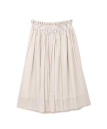 PROPORTION BODY DRESSING/《EDIT COLOGNE》シャイニーギャザースカート/500113043