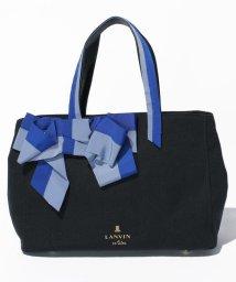 LANVIN en Bleu(BAG)/マリアンヌ リボントートバッグ/LB0003497