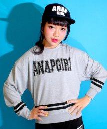 ANAP GiRL/ロゴライン入トップス/500099175