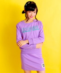 ANAP GiRL/ロゴオフショルトップス&スカート SET/500099180