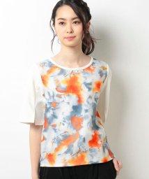 B donna/3DプリントTシャツ/500104990