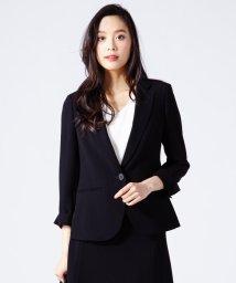 NIJYUSANKU/【洗えるスーツ】トリアセダブルジョーゼット ジャケット/500115356