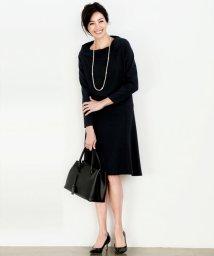 NIJYUSANKU/【洗えるスーツ】トリアセダブルジョーゼット スカート/500115578