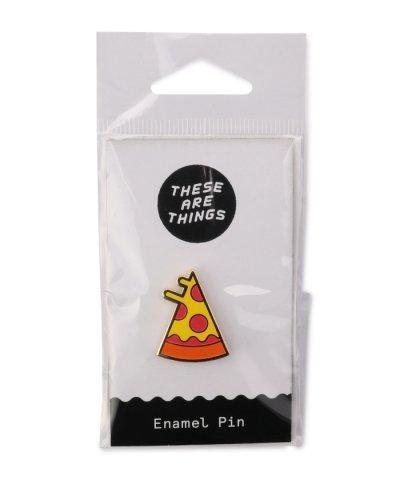 (THESEARETHINGS)ピザモチーフピンバッチ