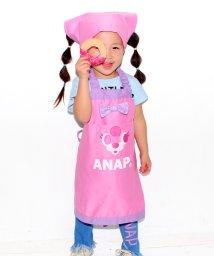 ANAP KIDS/キャラクターエプロン 三角巾SET/500105199