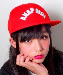 ANAP GiRL/ロゴ刺繍フラットキャップ/500109094