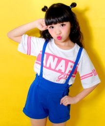 ANAP GiRL/ロゴTシャツサロペット SET/500109096
