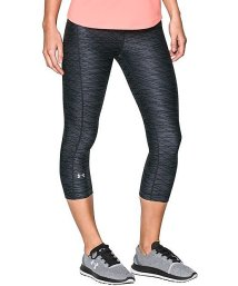 UNDER ARMOUR/アンダーアーマー/レディス/UA HEATGEAR ARMOUR PRINTED CAPRI/500122250
