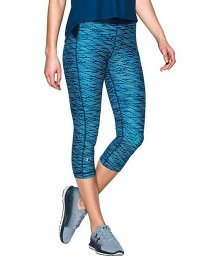 UNDER ARMOUR/アンダーアーマー/レディス/UA HEATGEAR ARMOUR PRINTED CAPRI/500122252