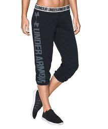 UNDER ARMOUR/アンダーアーマー/レディス/UA FAVORITE FLEECE CAPRI/500122314