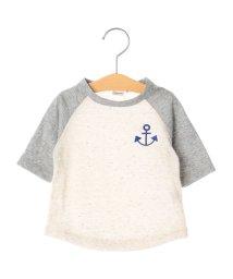 SHIPS KIDS/SHIPS KIDS:カラーネップ 7分袖(80〜90cm)/500123989