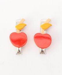 SHIPS KIDS/lilies&roses:アップル/パイン ヘアクリップ/500124000