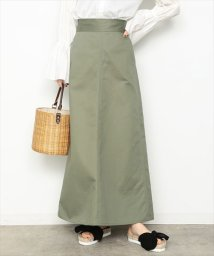 ADAM ET ROPE'/CHINO MAXI SKIRT/500115748