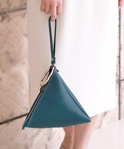 【Bab】三角リングハンドルバッグ