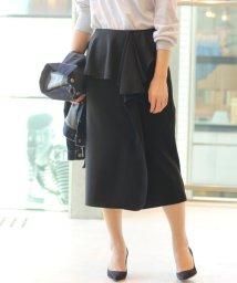 IENA/ジョーゼットボンディング デザインスカート◆/500125402