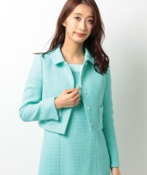 ELISA/【セットアップ対応商品】ソリッドリントンツィードジャケット/10249050N