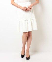ELISA/【VERY 3月号掲載】ダブルレーヨンストレッチスカート/10249052N