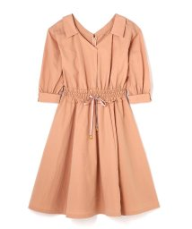 JILL by JILLSTUART/SHIRR WAIST SHIRT DRESS/500087432