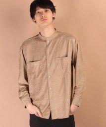 JUNRed/フェイクスエードシャツ/500121600