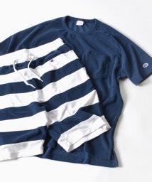 "SHIPS MEN/【WEB限定】Champion×SHIPS: 別注 ""TERRY CLOTH"" パイル/ボーダー セットアップ/500126260"