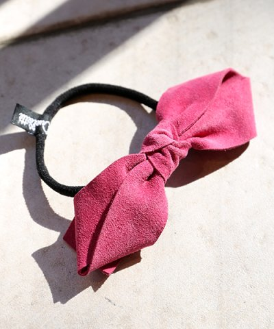 Jennifer Ouellette/ジェニファーオレット Suede bow Pony