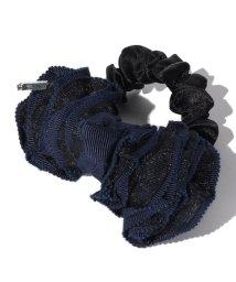 LANVIN en Bleu/フリルリボンシュシュ/LB0003567