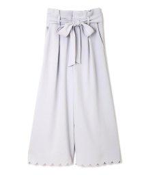 PROPORTION BODY DRESSING/【CanCam 5月号掲載】パウダリーサテンクレープガウチョ/500131253