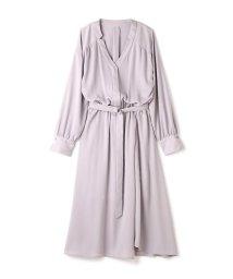 PROPORTION BODY DRESSING/《BLANCHIC》 ノッチネックジョーゼットワンピース/500131265