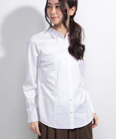 【Leilian(レリアン)】ベーシックシャツ
