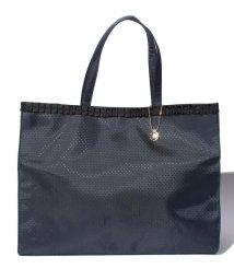 PI/【VIA DEMIZON DOUX ビアデミゾンドゥ】巾着袋付きA4サイズしっかりサブバックB/500121086